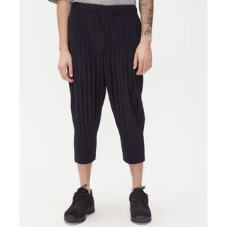 ISSEY MIYAKE - homme plisse イッセイミヤケ パンツ サイズ2 濃紺