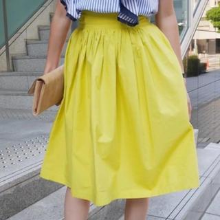 machatt  ボリュームスカート(ひざ丈スカート)