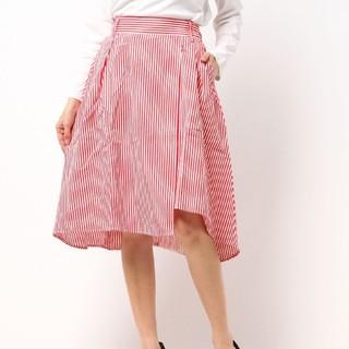 ウィゴー(WEGO)の未使用  綿ストライプスカート(ひざ丈スカート)