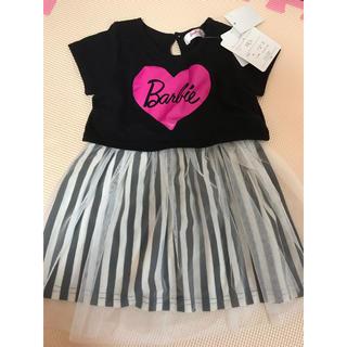 バービー(Barbie)のBarbie ワンピース 新品タグ付き(ワンピース)