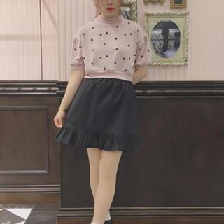イーハイフンワールドギャラリーボンボン(E hyphen world gallery BonBon)のMsizeギンガムチェック台形スカート(ミニスカート)