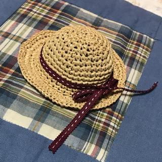 オビツ11 サイズ帽子(エンジリボン)(人形)