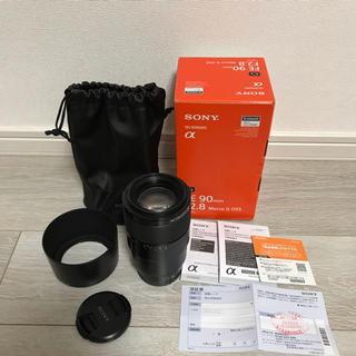 ソニー(SONY)のSONY FE 90mm F2.8 Macro G  SEL90M28G 美品(レンズ(単焦点))