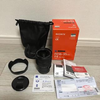 ソニー(SONY)のSONY FE 16-35mm F4 ZA OSS SEL1635Z 新品同様(レンズ(ズーム))