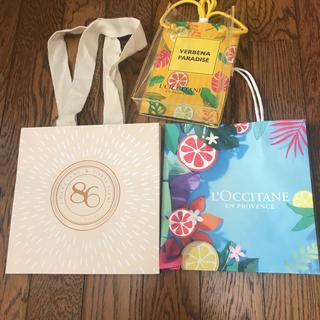 ロクシタン(L'OCCITANE)のロクシタン ショップ袋 新品 3セット(ショップ袋)