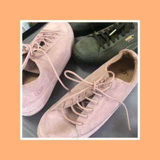 アグ(UGG)のugg pink sneaker(スニーカー)