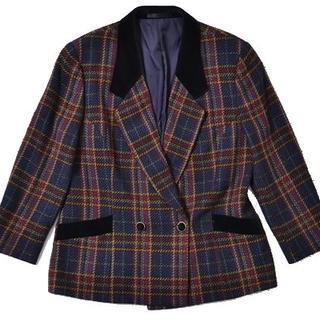 バーバリー(BURBERRY)の◇BURBERRYS◇size15BR double jacket(テーラードジャケット)
