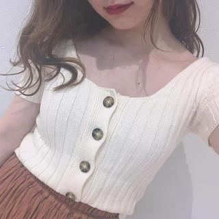 フーズフーチコ(who's who Chico)のフーズフーチコ♡トップス(Tシャツ(半袖/袖なし))