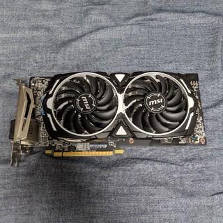 エイスース(ASUS)の【ジャンク】MSI Radeon RX580 MINER 8G(PCパーツ)