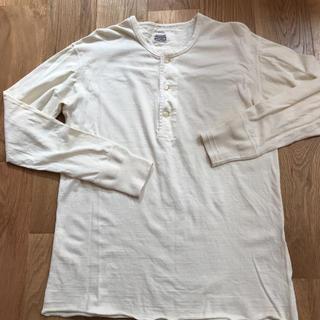 テンダーロイン(TENDERLOIN)のTENDERLOIN テンダーロイン メンズ 白 100パーセントコットン 長袖(Tシャツ/カットソー(七分/長袖))