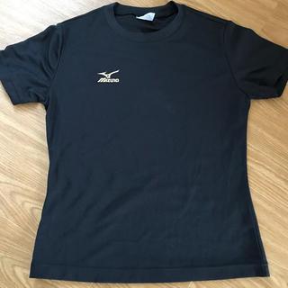 ミズノ(MIZUNO)のミズノ  陸上用 Tシャツ 黒(陸上競技)