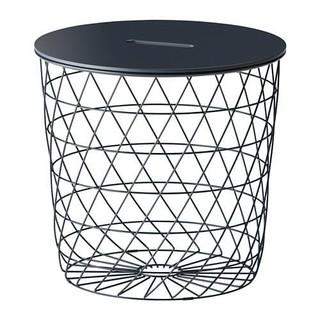 イケア(IKEA)のIKEA KVISTBRO クヴィストブロー 収納付き リビングテーブル (コーヒーテーブル/サイドテーブル)