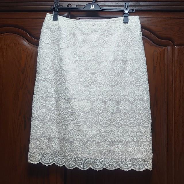 ベルメゾン(ベルメゾン)のレース スカート レディースのスカート(ひざ丈スカート)の商品写真