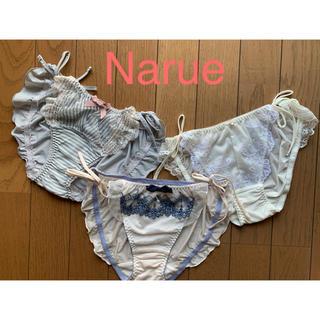 ナルエー(narue)の【新品】ナルエー 紐ショーツ3枚セット (ショーツ)