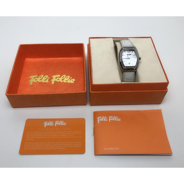 Folli Follie - S054  フォリフォリ 腕時計ラインストーン レディースの通販 by Only悠's shop|フォリフォリならラクマ