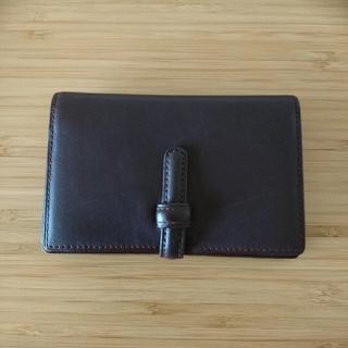 ムジルシリョウヒン(MUJI (無印良品))の無印良品 本革 名刺入れ カードケース(名刺入れ/定期入れ)