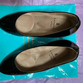 ランバンオンブルー(LANVIN en Bleu)のランバン レインパンプス(長靴/レインシューズ)