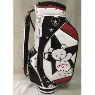 Callaway Golf - callaway キャロウェイベア キャディバッグ ゴルフバッグ黒色限定品
