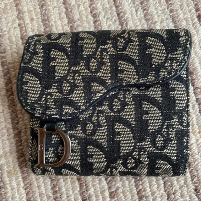 Christian Dior - 正規品 ディオール 折財布の通販 by 花ちゃん's shop|クリスチャンディオールならラクマ