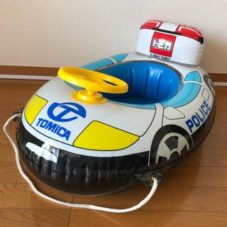 タカラトミー(Takara Tomy)のトミカ パトカー 浮き輪 足入れ(マリン/スイミング)