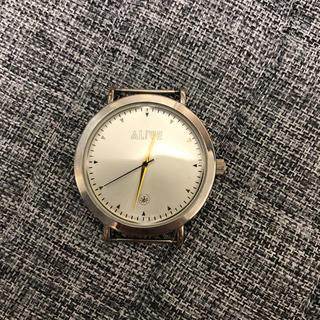 アライブアスレティックス(Alive Athletics)の腕時計 ALIVE  ベルトなし 美品(腕時計(アナログ))