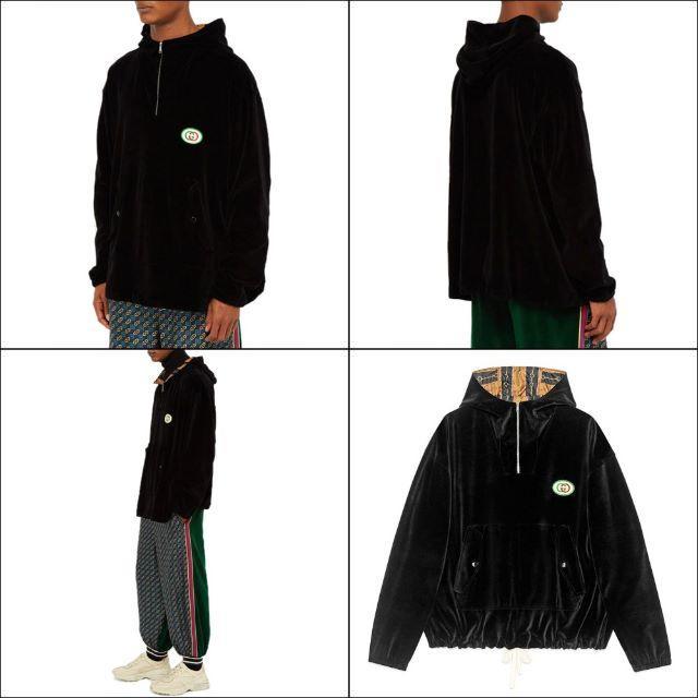 Gucci(グッチ)の【3】GUCCI19ss フード付きシェニール ジャケット パーカーXS メンズのトップス(パーカー)の商品写真