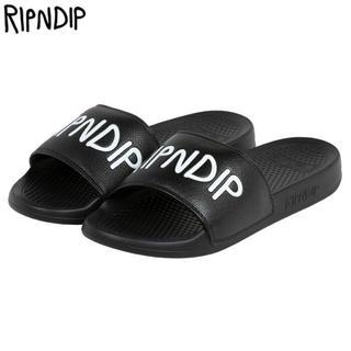 ripndip ロゴサンダル ブランド US4(サンダル)