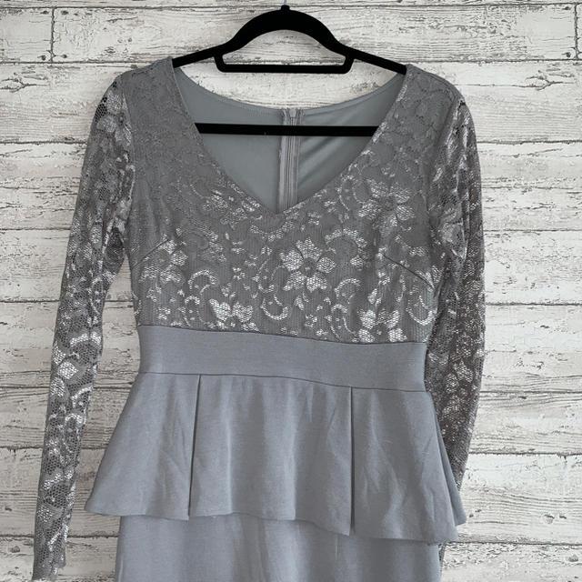 dazzy store(デイジーストア)のdaisyLounge★レースペプラムワンピース レディースのフォーマル/ドレス(ミディアムドレス)の商品写真