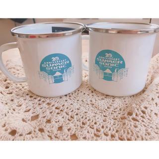 サマーソニック 非売品マグカップ(グラス/カップ)
