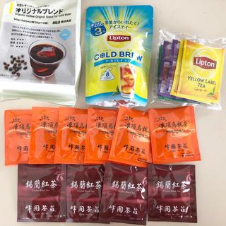 ムジルシリョウヒン(MUJI (無印良品))のリプトン&無印良品 水出し紅茶 コーヒー アールグレイ ダージリン 凍頂烏龍茶(茶)