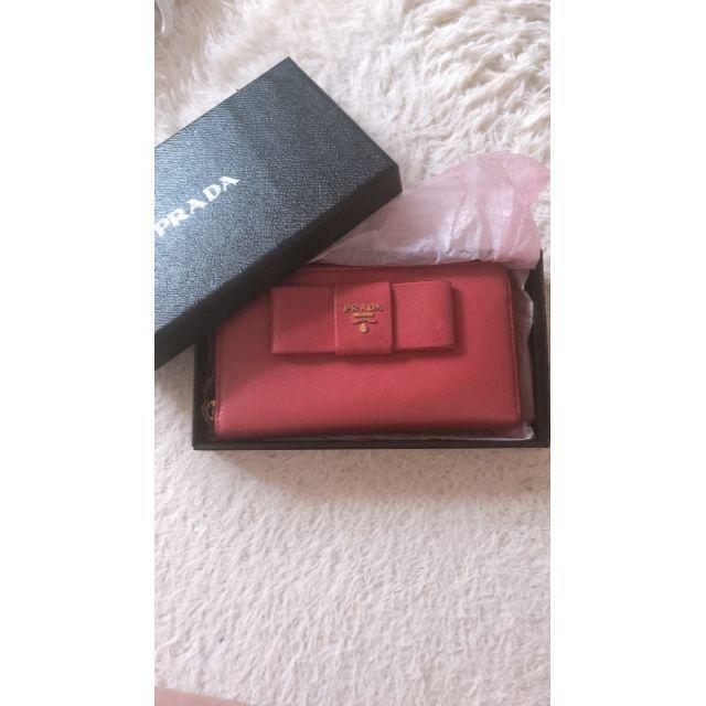 PRADA - PRADA プラダ 長財布 ピンクの通販 by まきんこ's shop|プラダならラクマ