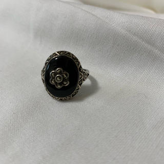●A56 used silver925 flower ring(リング(指輪))
