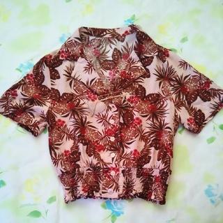 ジーユー(GU)の♡島ちゅうさま専用♡GUアロハシャツ(シャツ/ブラウス(半袖/袖なし))