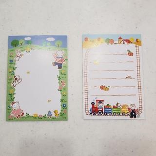 ファミリア(familiar)のfamiliarファミリア ポストカード6枚(使用済み切手/官製はがき)