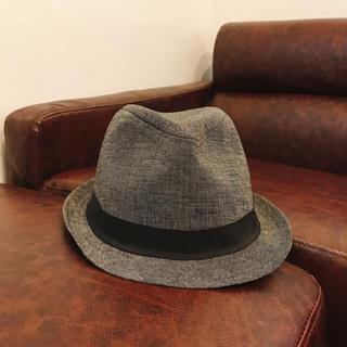 エイチアンドエム(H&M)の【なつさん専用】中折れハット 帽子 H&M エイチアンドエム グレー(ハット)