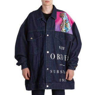 RAF SIMONS - RAF SIMONS 18SS NEW ORDER DENIM JACKET