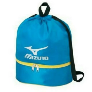 ミズノ(MIZUNO)のプールバック ビーチバック MIZUNO ブルー 青(マリン/スイミング)