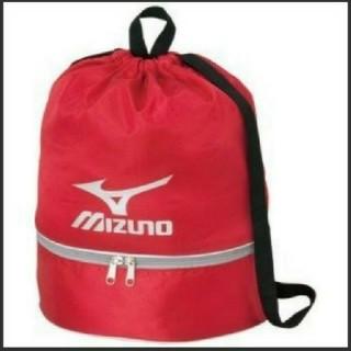 ミズノ(MIZUNO)のプールバック ビーチバック MIZUNO レッド 赤(マリン/スイミング)