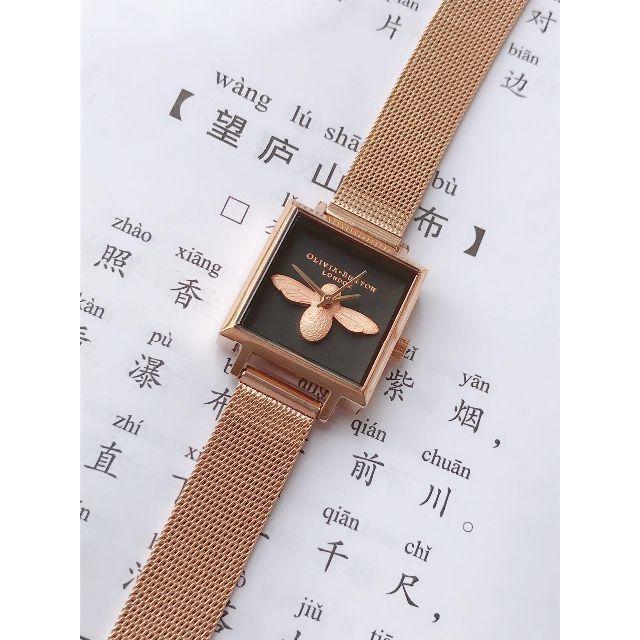 クロエ 公式 バッグ スーパー コピー / BURTON - イギリスのブランドolivia burtonOBミツバチの水晶の女性時計の四角形の通販 by ejfkh34's shop|バートンならラクマ