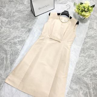 フォクシー(FOXEY)の美品 定価14万円 フォクシー FOXEY 最高級シルク ドレス掲載 ワンピース(ひざ丈ワンピース)