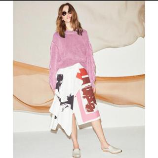 アメリヴィンテージ(Ameri VINTAGE)のameri vintage アシメントリースカート(ひざ丈スカート)