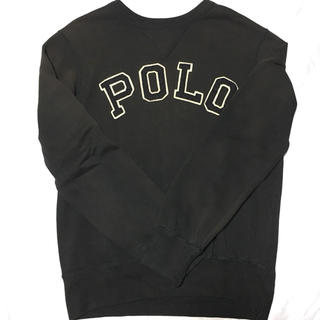 ポロラルフローレン(POLO RALPH LAUREN)のPolo Ralph Lauren ロゴスウェット Black S(スウェット)
