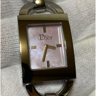 ディオール(Dior)のクリスチャン・ディオールレディース✨ピンクシェルマリス✨超美品✨本日まで超特価✨(腕時計)