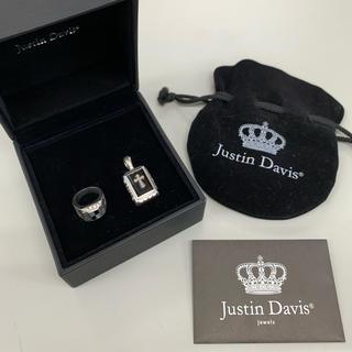 ジャスティンデイビス(Justin Davis)のJUSTIN DAVIS SEXリング ペンダントトップ セット(リング(指輪))