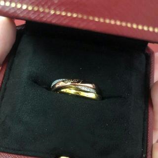 カルティエ(Cartier)の【Cartier 】トリニティリング クラシック 美品(リング(指輪))
