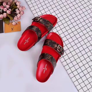 ルイヴィトン(LOUIS VUITTON)のLOUIS VUITTON ルイヴィトン 靴/シューズ サンダル 38(サンダル)