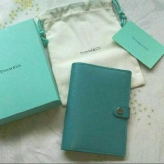 ティファニー(Tiffany & Co.)のティファニー ブルー パスポートケース 手帳 カードケース(旅行用品)