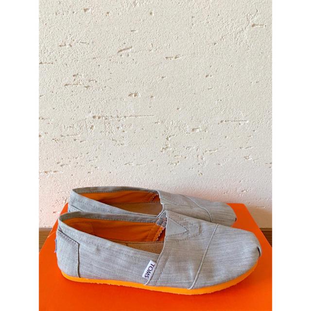 TOMS(トムズ)のトムズ TOMS♡スリッポン デニム オレンジ レディースの靴/シューズ(スリッポン/モカシン)の商品写真