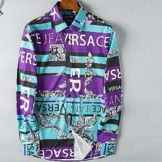 ヴェルサーチ(VERSACE)のVersace ヴェルサーチ 長袖シャツ カジュアル(Tシャツ/カットソー(半袖/袖なし))