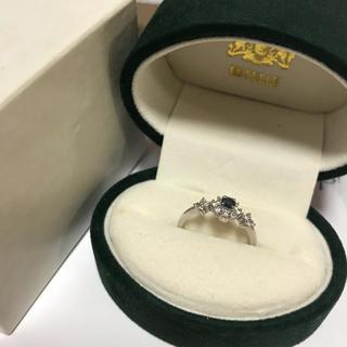 K18  WG ダイヤモンドリング(リング(指輪))